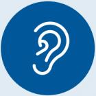 Ongeveer 1 op de 5 volwassenen heeft een gehoorverlies